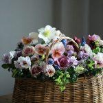 東京ワークショップ vol.15  春の草花のバスケットブリコラージュ